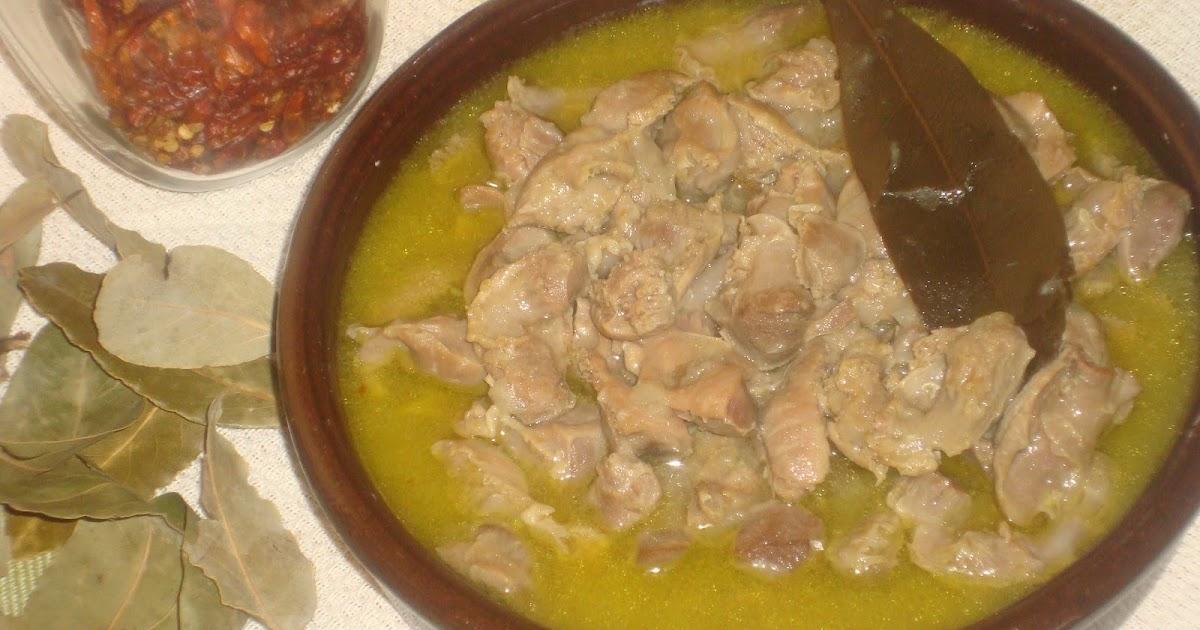 cachuelas de pollo