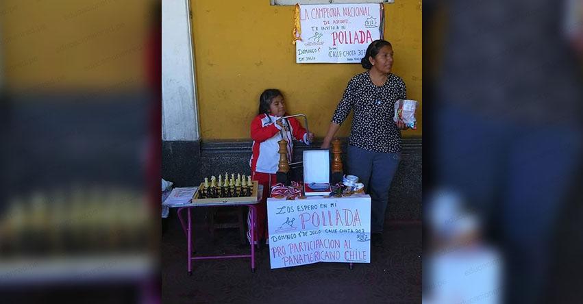 Niña campeona de ajedrez vende pollada para representar a Perú en el Festival Panamericano de la Juventud de Ajedrez - Chile