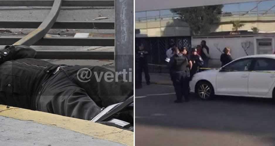 Enfrentamiento entre sicarios armados y policías deja un ejecutado en la Recta a Cholula
