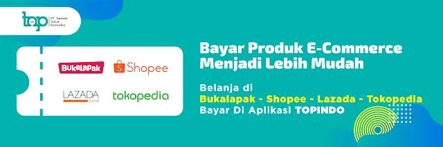 banner agen e commerce bukalapak shopee tokopedia tiket.com