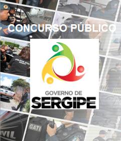 Concurso Governo do Sergipe 2017 - na área da segurança