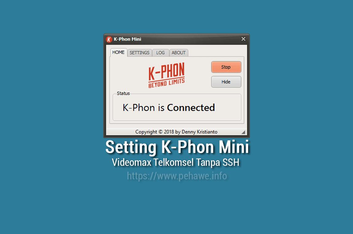 Cara Menggunakan K-Phon Mini Videomax Dengan SSH