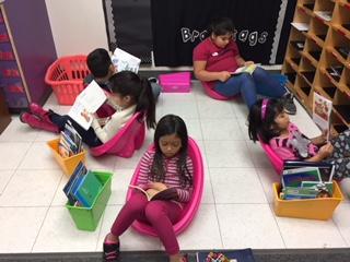 flexible seating reading rockers