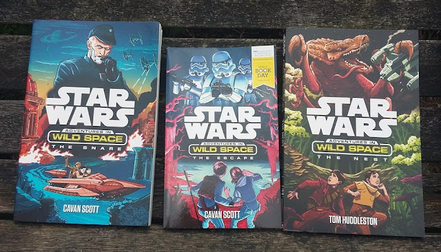 Star Wars and World Book Day - Review and Giveaway Adventures in Wild Space