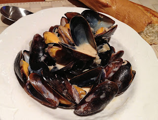 Moules au Cidre (Mussels in Cider)