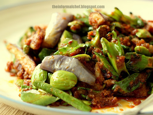 Four Heavenly Kings (Stir-Fried Mixed Vegetables) 四大天王