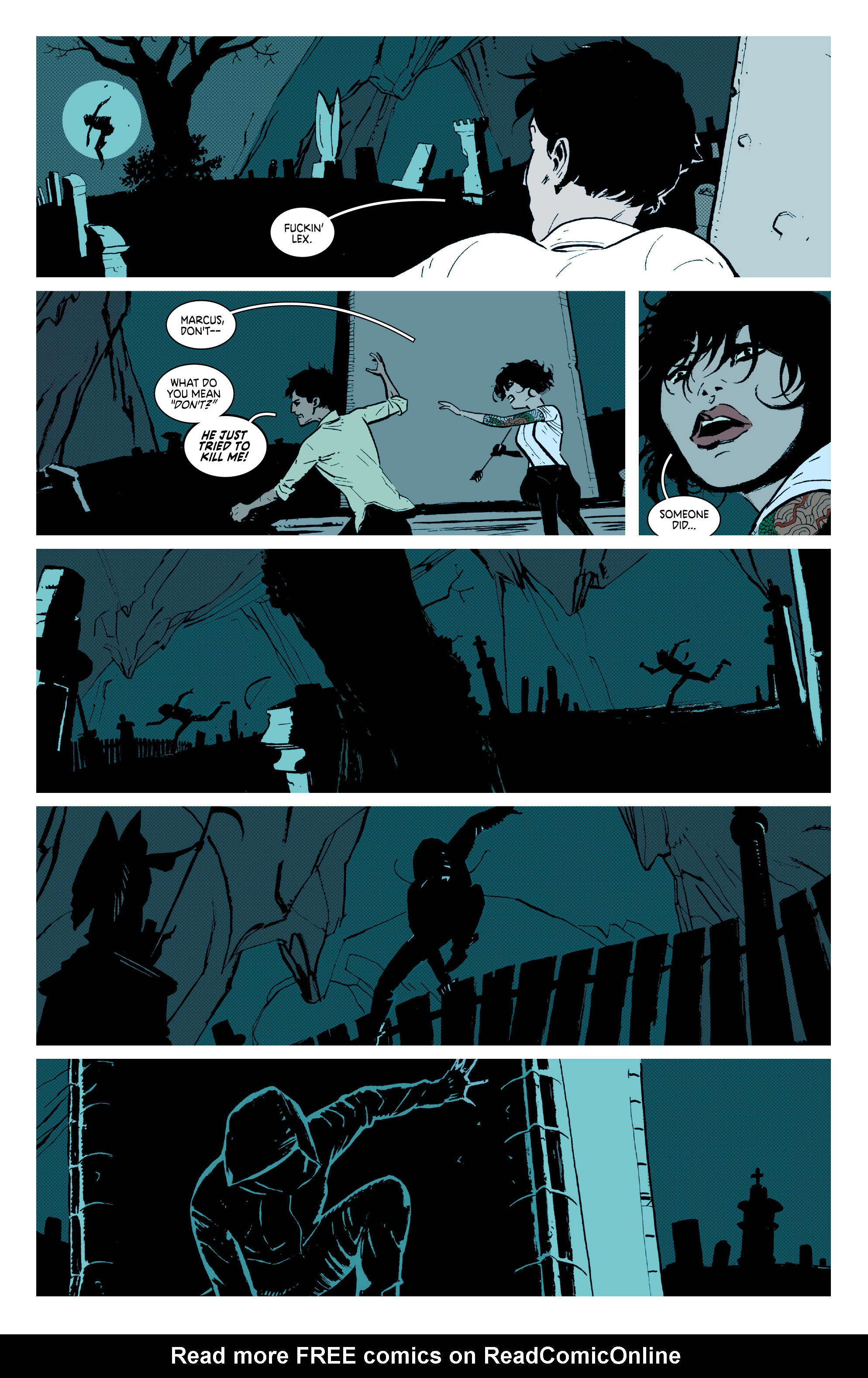 Read online Deadly Class comic -  Issue #7 - 17