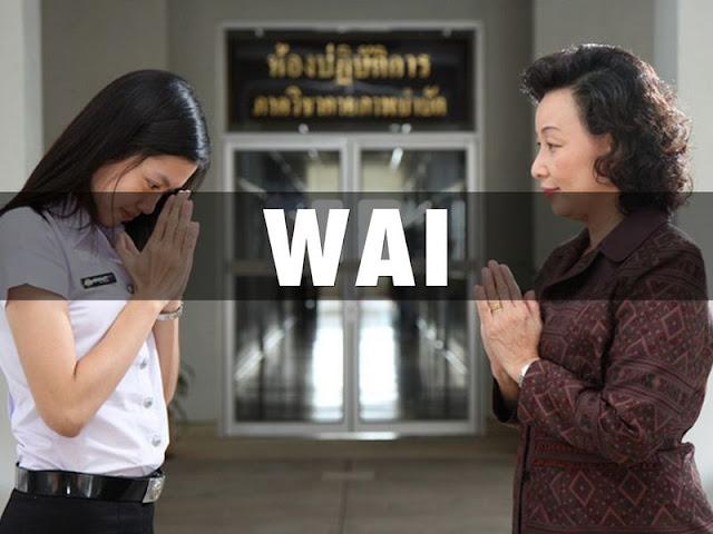 Wai salam Thailand