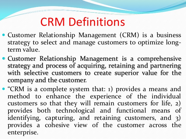 customer relationship management models A mishra et al customer relationship management: implementation process perspective – 84 – considering customer's needs in all aspects of a business, ensuring customers.