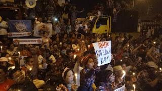 Pendukung Ahok : Sudah Saatnya Penjarakan Habib Rizieq!!