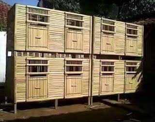dinding bambu