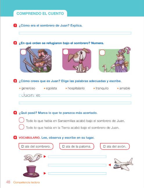 Diario de 2º A  Comprensión lectora y palabras polisémicas c2745ac5e9a