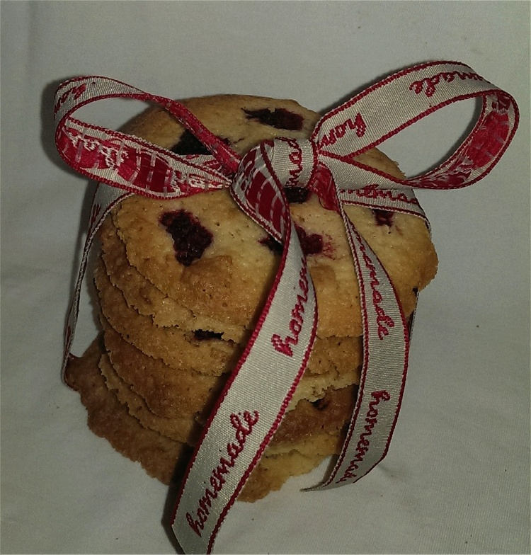 Knusper-Himbeer-Cookies 2
