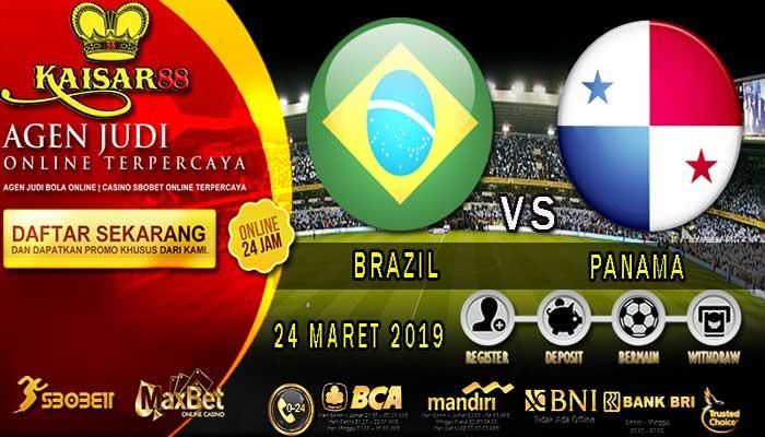 PREDIKSI BOLA TERPERCAYA BRAZIL VS PANAMA 24 MARET 2019