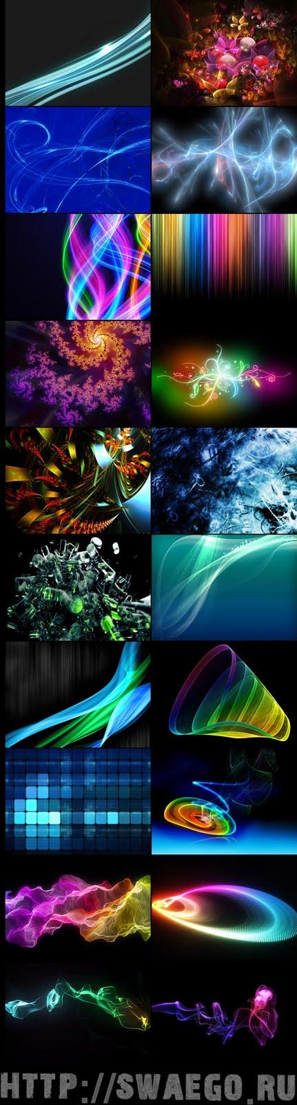 Абстрактные текстуры для Фотошопа