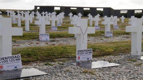 Identifican soldado argentino 106 de guerra de las Malvinas