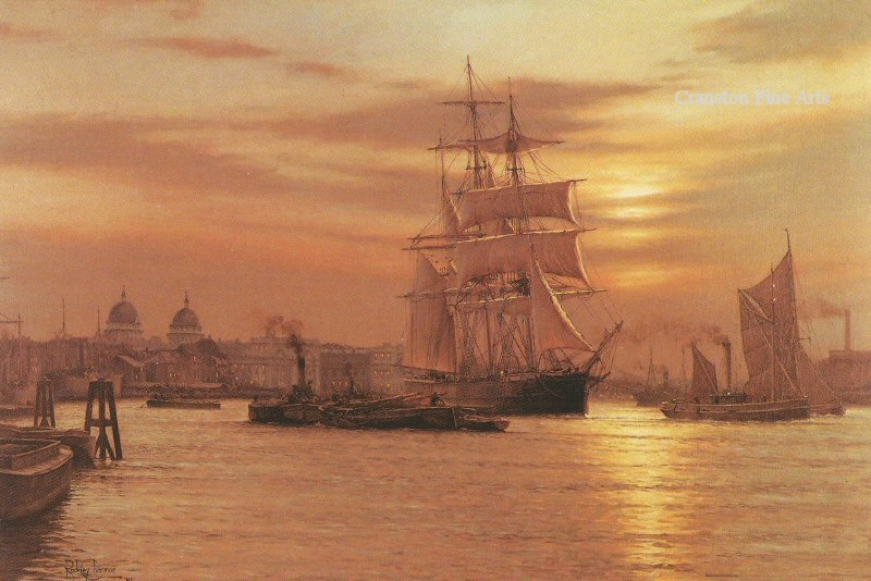 Roger Desoutter 1923 | British Maritime painter