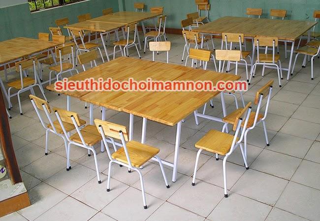Bàn ghế mầm non nhà Trẻ