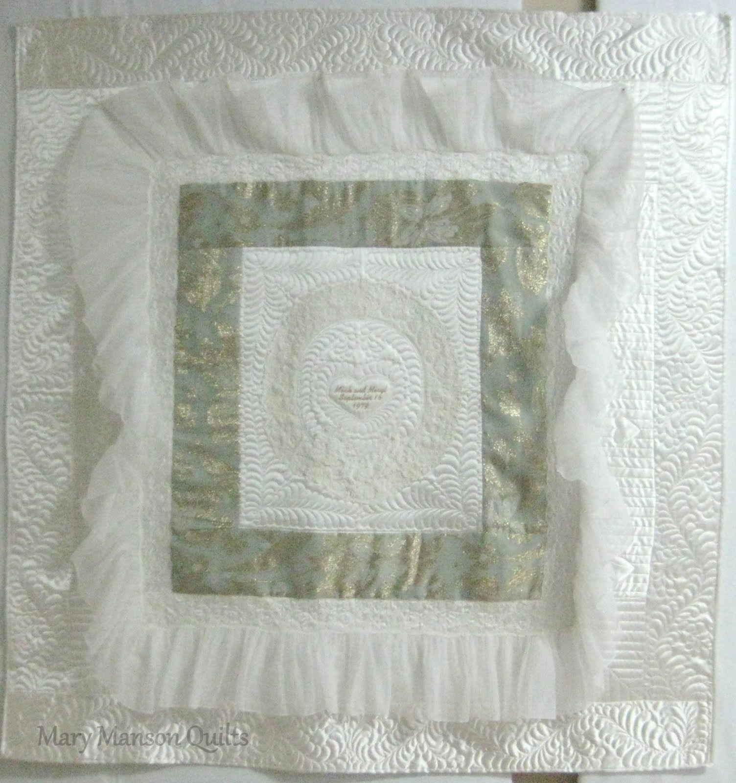 Wedding Dress Quilt 22 Beautiful She also wanted to