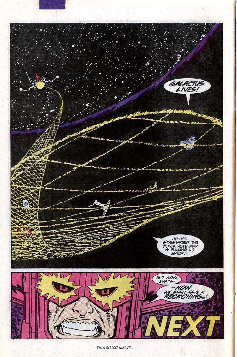 Read online Silver Surfer (1987) comic -  Issue #9 - 32
