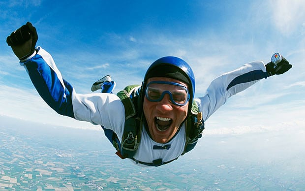 Skydiving and Conquering Your Fears