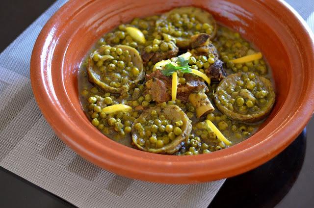 tajine d'agneau ou de boeuf marocain