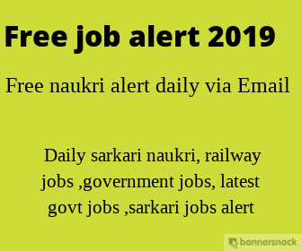 free job alerts-government,bank,railway, freshers