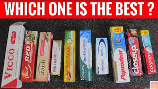 Top 10 toothpaste ranked from 1 to 10 for Indians