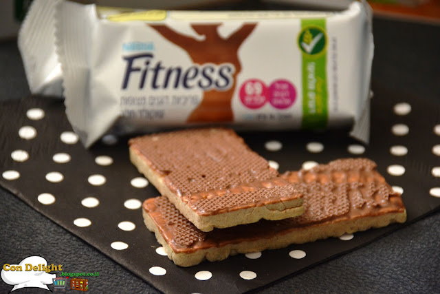 פריכיות שוקולד פיטנס fitness chocolate