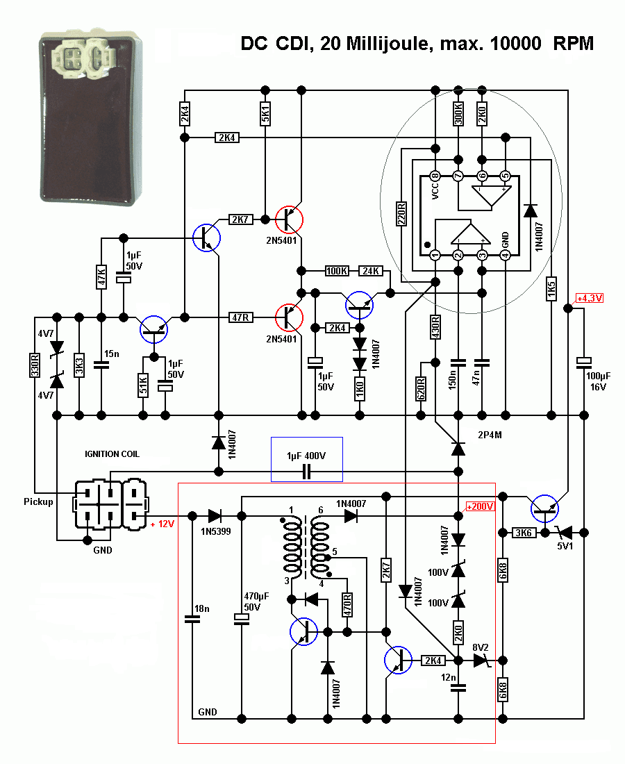 still without improving the High voltage converter circuit