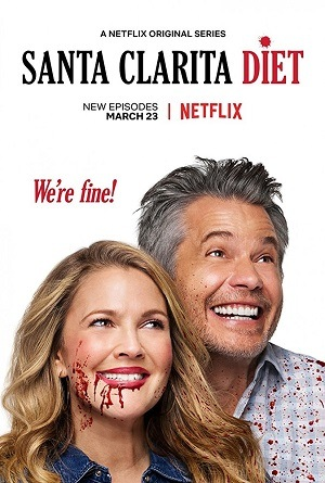 Santa Clarita Diet - 2ª Temporada Completa Séries Torrent Download capa
