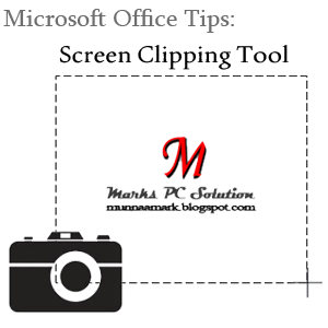 Take Screenshot from Microsoft Office Programs