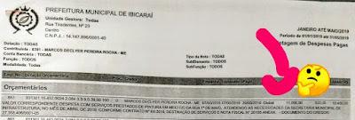 Ibicaraí: Anexo de documento acusa prefeitura de gastar 11 mil com pintura de meio fios