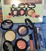 Laura Geller Baked Confections review 2014 QVC TSV set Plum Torte Tropic Hues Cherry Almond liquid lipstick