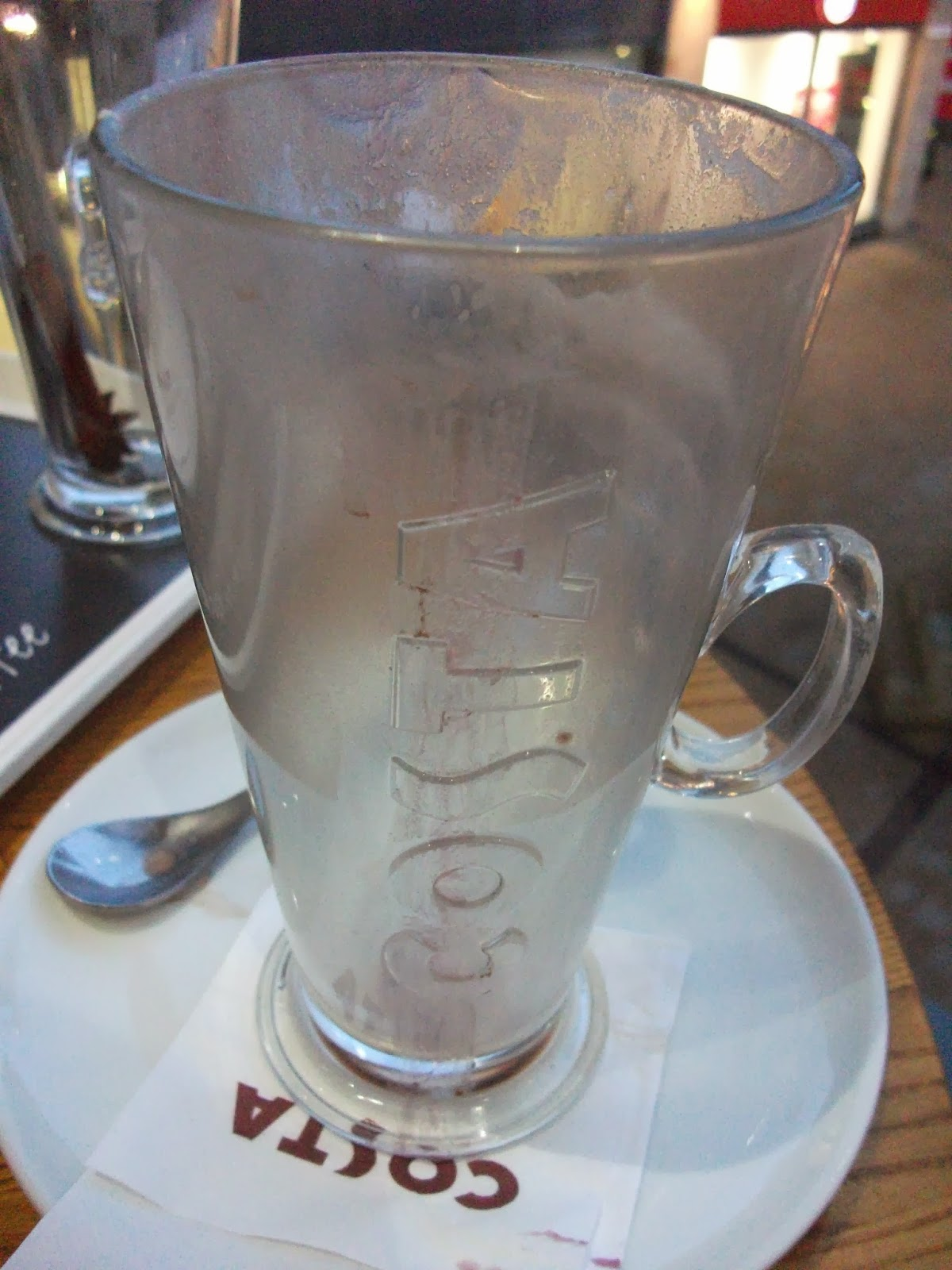Costa Black Forest Hot Chocolate Review