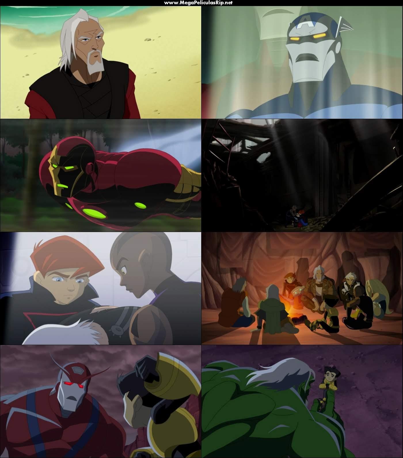 Nuevos Vengadores Heroes Del Mañana 1080p Latino