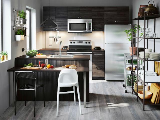 Inspirasi Model Lemari Dapur IKEA