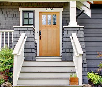 Fotos y dise os de puertas molduras para puertas de interior - Molduras para puertas ...