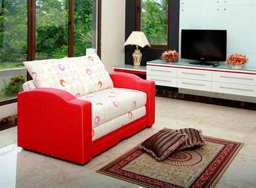 Sofa Bed Santai Minimalis untuk Ruang Keuarga