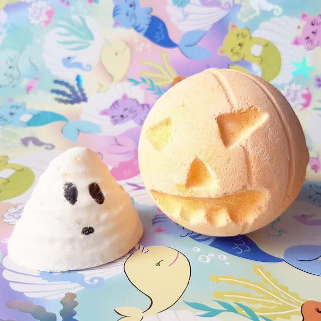 Halloween at Lush | Pumpkin Bath Bomb & Boo Bath Melt