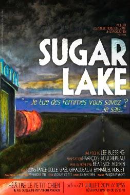 Sugar lake Constance Dollé, Gaël Giraudeau, Emmanuel Noblet festival Avignon 2014