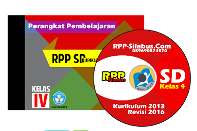 Download RPP Kelas 4 SD Kurikulum 2013 Revisi 2016