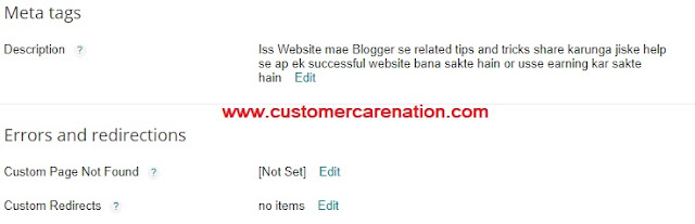 Blogger Blog Ki Full Basic Setting Kaise Kare