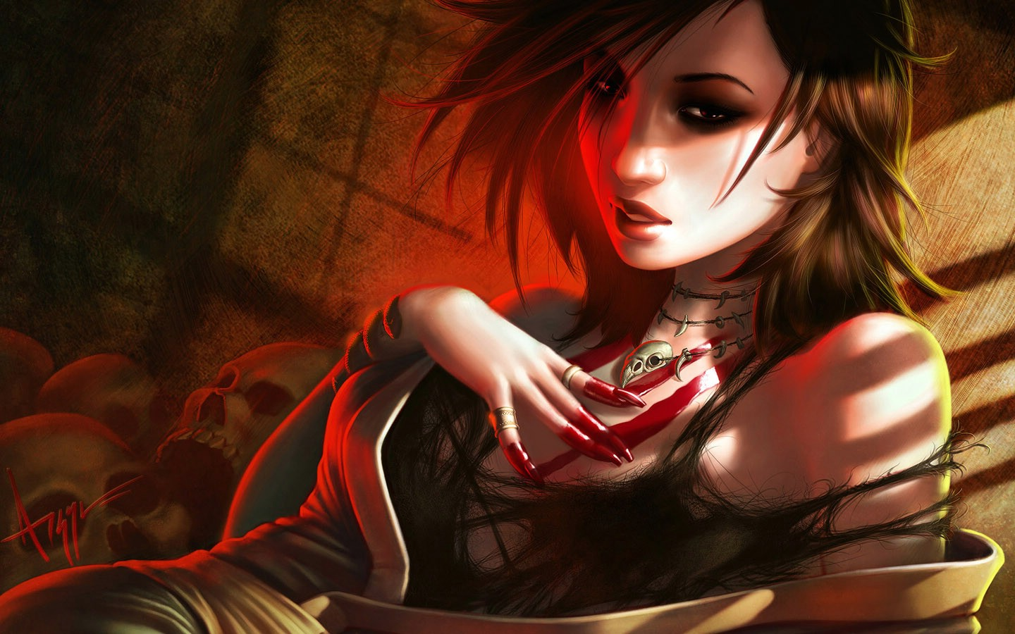 gothic girls wallpaper by - photo #14