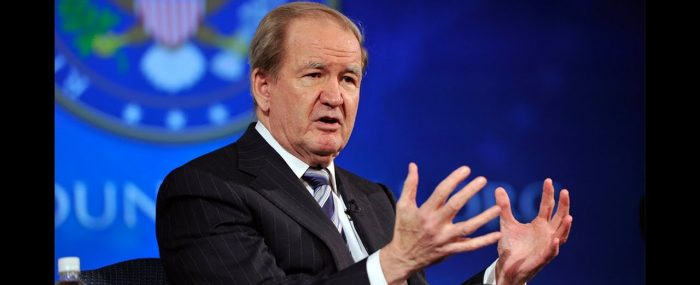 pat buchanan essay We agree with every one of them of course not, and so what that misses the  point the point is that pat buchanan is strongly infused with liber- tarian principle .