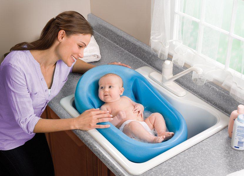 Summer Infant Cushy Cradler Newborn Baby Bath Review