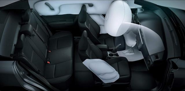 Novo Toyota Corolla 2018 -- Argentina - interior