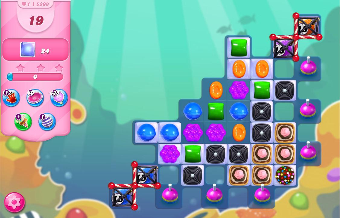 Candy Crush Saga level 5303