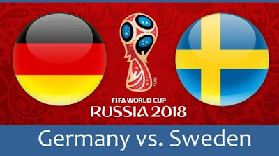 Live Streaming Germany vs Sweden Piala Dunia 24.6.2018