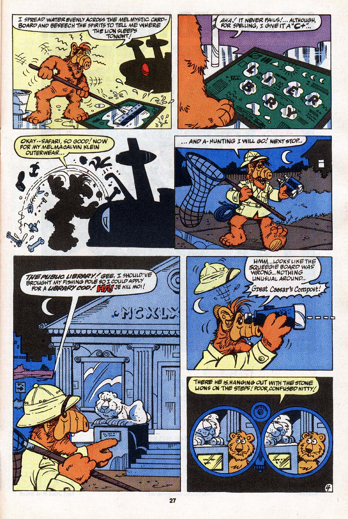 Read online ALF comic -  Issue #31 - 22